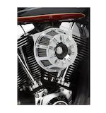 Arlen Ness 10-Gauge Inverted Series Air Cleaner Kit For Harley 2008-2016 Chrome [Previously Installed]