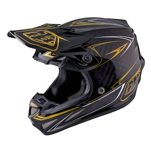 Troy Lee SE4 Pinstripe Carbon Helmet