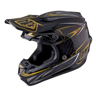 Troy Lee SE4 Pinstripe Carbon Helmet