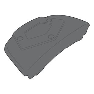 Givi SR3104KIT Top Case Fit Kit Suzuki Burgman 650 2002-2017