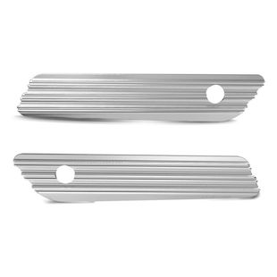 Arlen Ness 10-Gauge Saddlebag Latch Covers For Harley Touring 2014-2016 Chrome [Open Box]