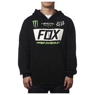 Fox Racing Monster Paddock Zip-Up Hoody