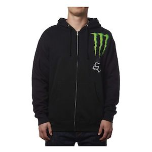Fox Racing Monster Zebra Zip-Up Hoody