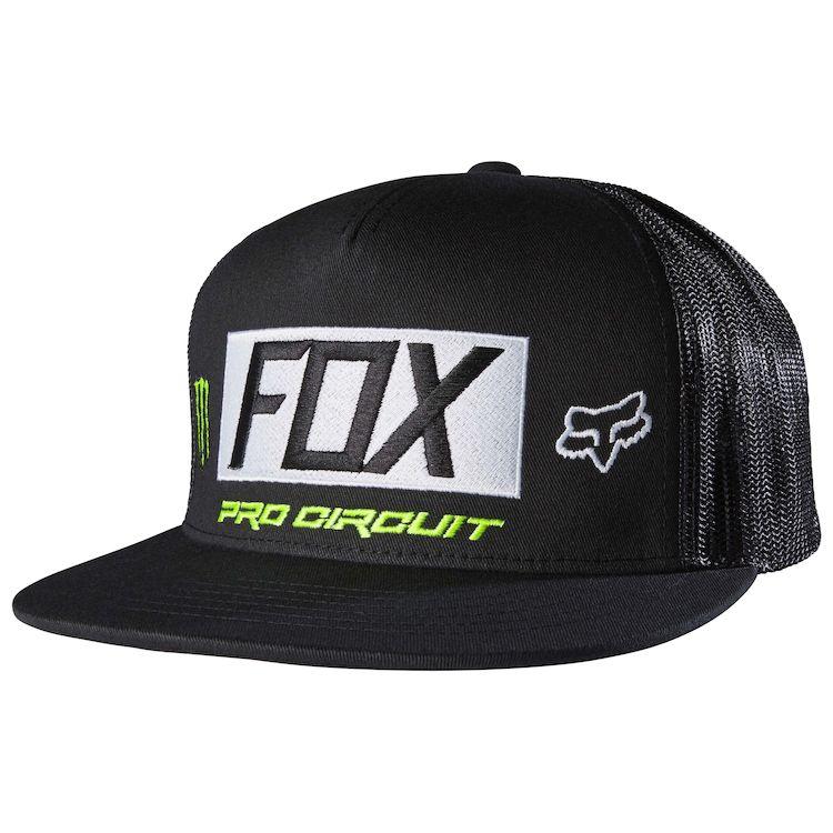 Fox Racing Monster Paddock Snapback Hat - RevZilla cb5d8cd512b