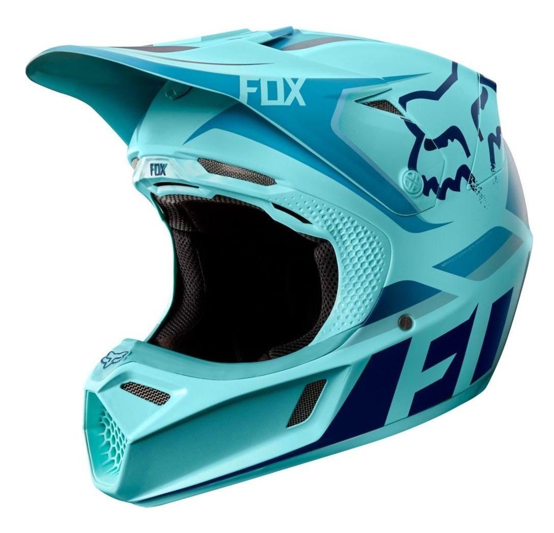 Fox V3 Helmet >> Fox Racing V3 Seca LE Helmet - RevZilla