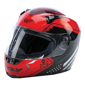 Fly Racing Street Revolt FS Patriot Helmet