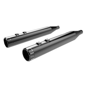"Khrome Werks 4"" High Performance Mufflers For Harley Touring 1995-2016"