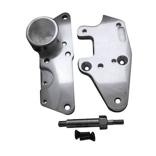 Covingtons Floorboard Relocators For Harley Touring 2009-2013 Chrome [Open Box]