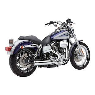 Cobra PowrPro HP 2-Into-1 RPT Exhaust For Harley Dyna 2006-2011