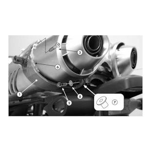 Givi 351KIT Side Case Mounting Kit Yamaha FZ6 2004-2010