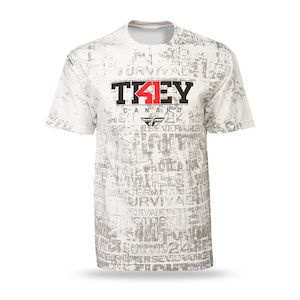 Fly Racing Dirt Trey Canard T-Shirt (SM)