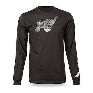 Fly Racing Track Long Sleeve T-Shirt