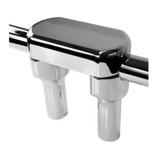"LA Choppers Hefty Handlebar Risers For 1 1/4"" Handlebars 4"" Rise / Chrome [Blemished - Very Good]"