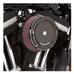 Arlen Ness Beveled Stage 1 Big Sucker Air Cleaner Kit For Harley Touring With EFI 1999-2001