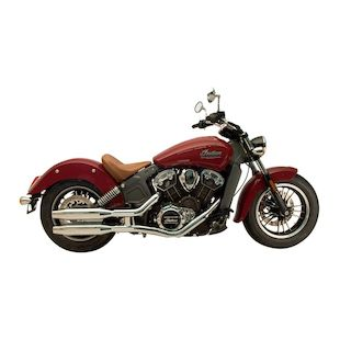 Supertrapp Exhaust Slip-On Mufflers For Indian Scout 2015-2016