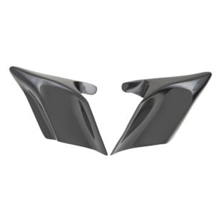 Drag Specialties Flare Side Covers For Harley Touring 1998-2008