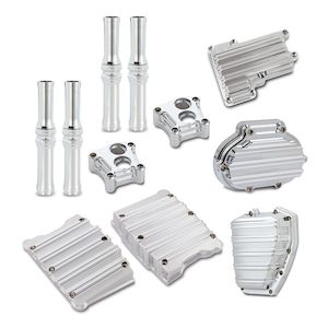 Arlen Ness 10-Gauge Engine / Hydraulic Transmission Cover Pack For Harley Touring 2014-2016