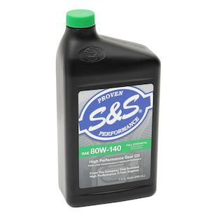 S&S Cycle Premium 80W140 Synthetic V-Twin Gear Oil