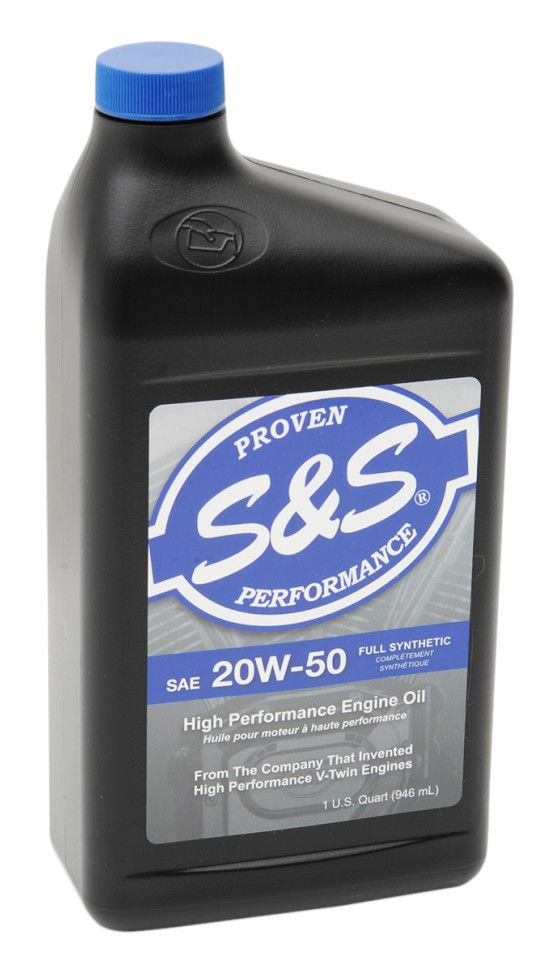 S S Cycle Premium 20w50 Synthetic V Twin Motor Oil Revzilla