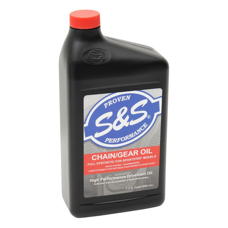 S&S Cycle Premium Synthetic Sportsters Chain Gear Oil