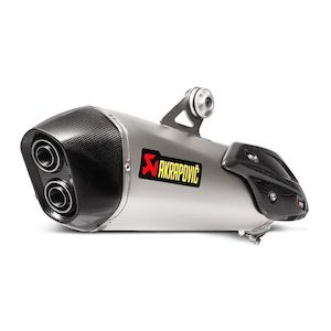 Akrapovic Slip-On Exhaust BMW C650 Sport 2016-2017