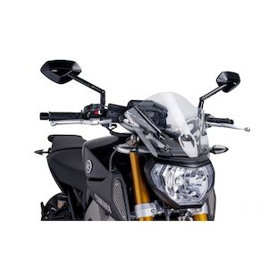 Puig Naked New Generation Windscreen Yamaha FZ-09 2014-2015 Clear / Touring [Open Box]
