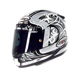 Suomy Apex Tornado Helmet Silver/Anthracite / XL [Blemished - Very Good]