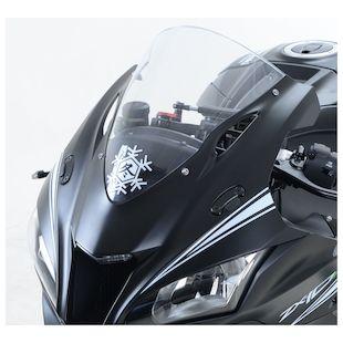R&G Racing Mirror Blanking Plates Kawasaki ZX10R 2016-2017