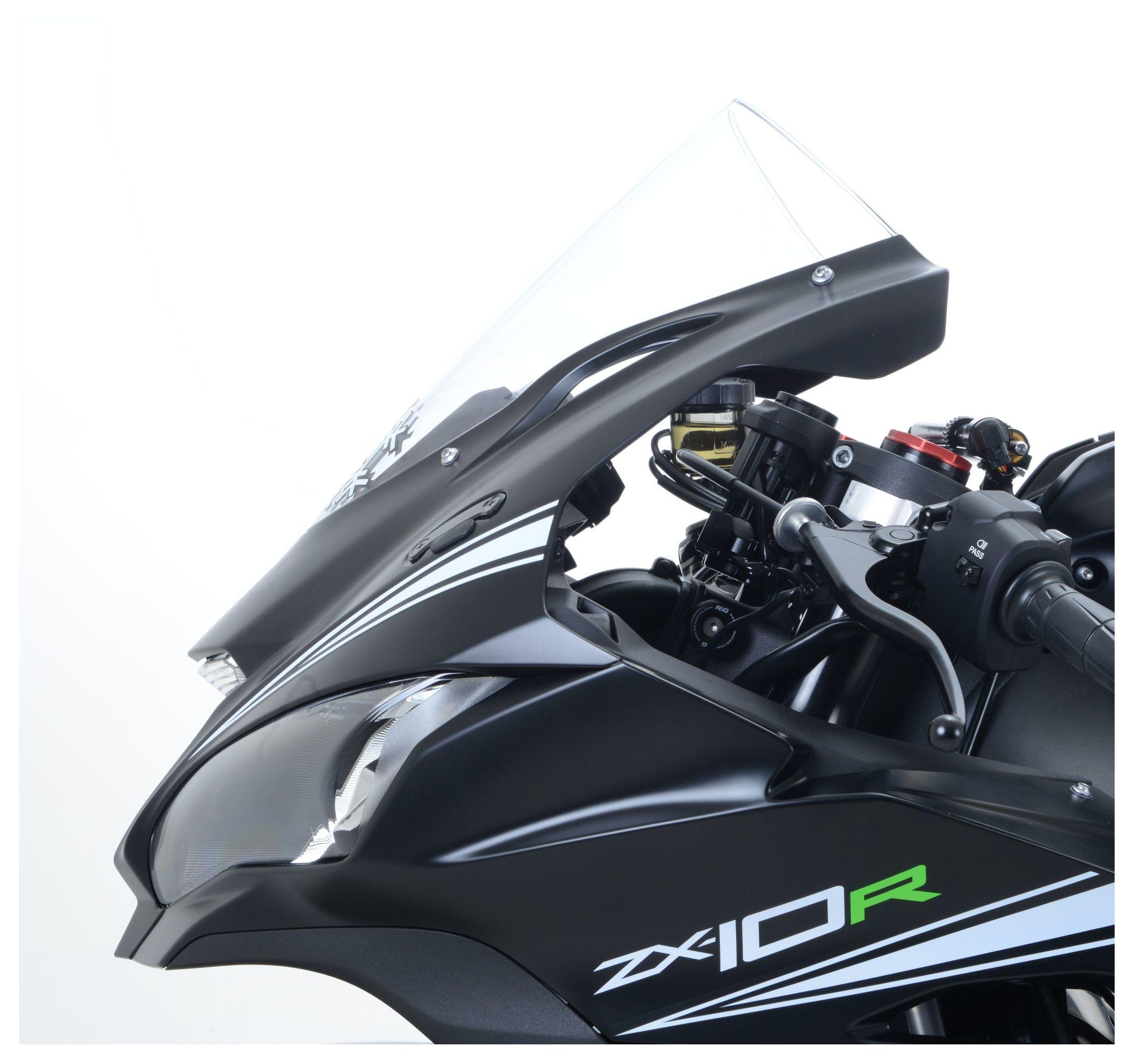 Kawasaki Z800 2014 R/&G Clutch//Brake Reservoir Protector Booty