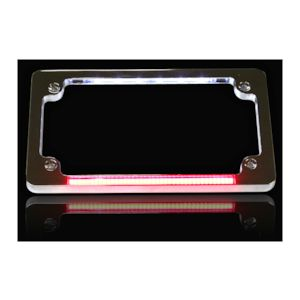 Custom Dynamics LED Dual License Plate Frame