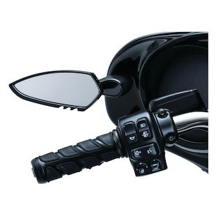 Kuryakyn Fairing Mounted Scythe Mirrors For Harley Touring 2014-2018