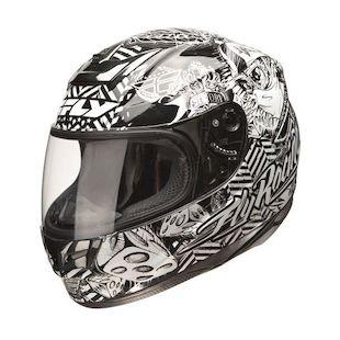 Fly Paradigm Winners Circle Helmet Black/White / XL [Open Box]