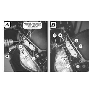 Givi D214KIT Windshield Fit Kit Honda Silverwing 600 2001-2013