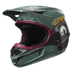 Fox Racing Youth V1 Boba Fett LE Helmet