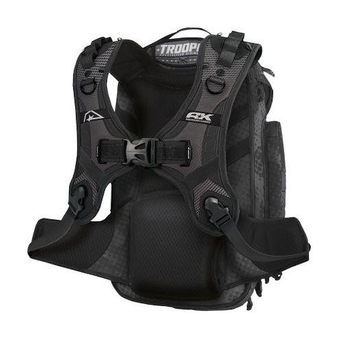 American Kargo Trooper Backpack Stealth Black