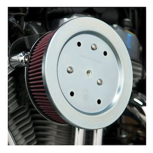 Arlen Ness Naked Stage 2 Big Sucker Air Cleaner For Harley Twin Cam 1999-2017
