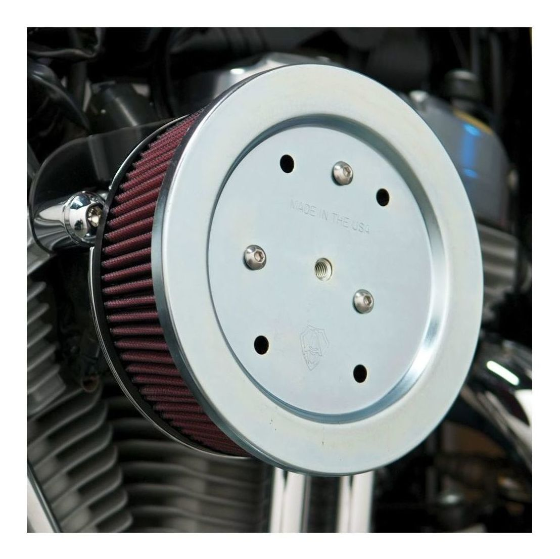 Arlen Ness Naked Stage 2 Big Sucker Air Cleaner For Harley