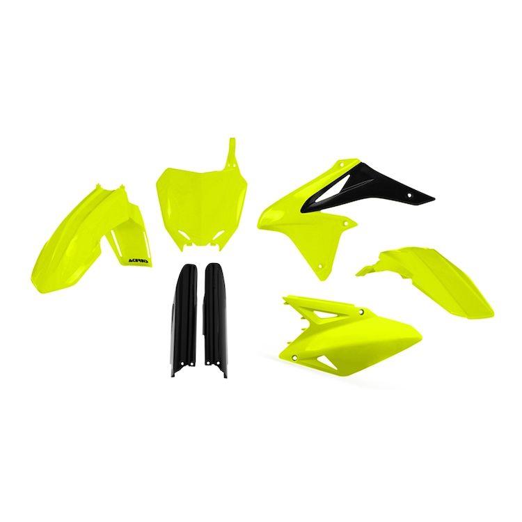 Acerbis Full Plastic Kit Black for Suzuki RMZ450 2008-2017