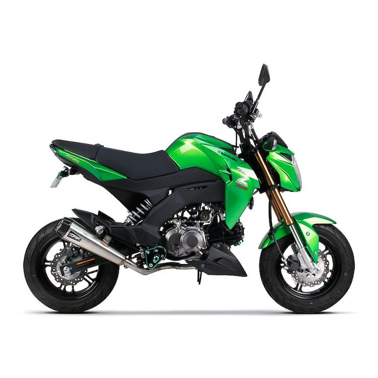 Two Brothers Comp Exhaust System Kawasaki Z125 Pro 2017-2018