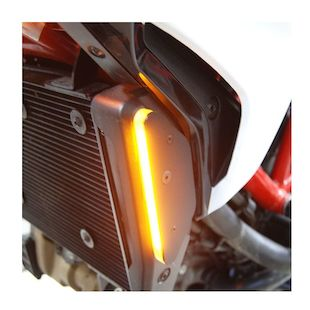 New Rage Cycles LED Front Turn Signals Ducati Hypermotard 821 / 939