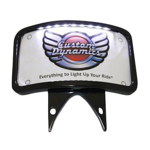 Custom Dynamics LED Laydown License Plate For Victory Kingpin 2004-2013