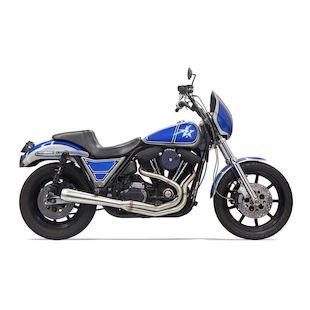 Bassani Road Rage III 2-Into-1 Exhaust For Harley FXR 1984-2000