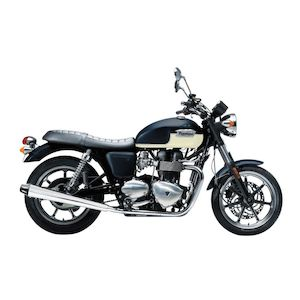 Bassani Performance Slip-On Mufflers For Triumph Bonneville SE 2009-2015