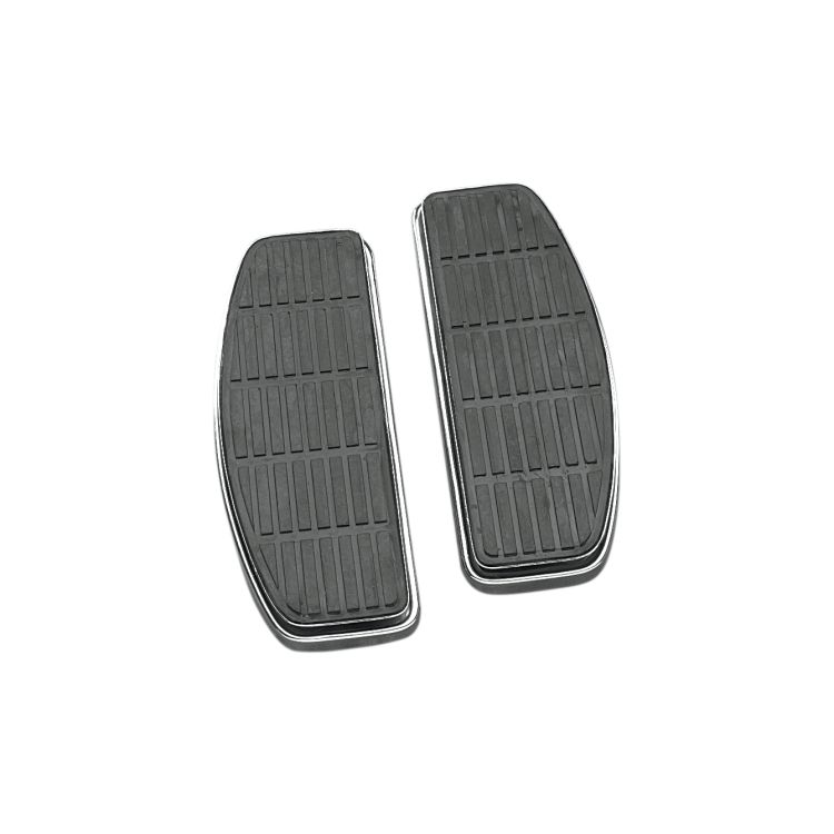 Drag Specialties D-Shaped Floorboards For Harley 1980-2020