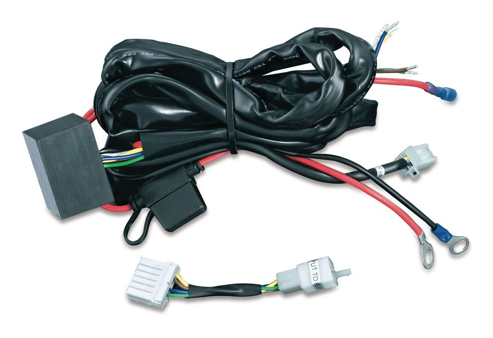 Kuryakyn plug and play trailer wiring relay harness for