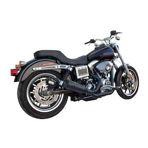 Firebrand Exhaust Fiftytwo52 2-Into-1 For Harley Dyna 2006-2017