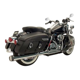 Supertrapp Fat Shot 2-Into-1 Exhaust For Harley Touring 2010-2016