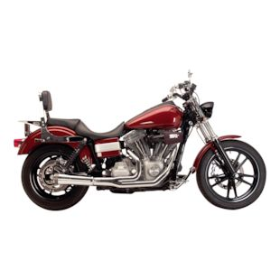 Supertrapp Fat Shot 2-Into-1 Exhaust For Harley Dyna 2012-2017