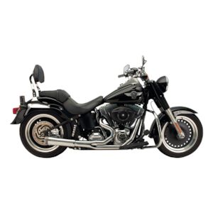 Supertrapp Fat Shot 2-Into-1 Exhaust For Harley Softail 1984-2011