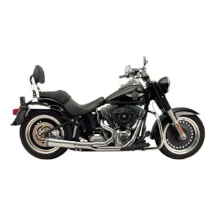 Supertrapp Fat Shot 2-Into-1 Exhaust For Harley Softail 2012-2017